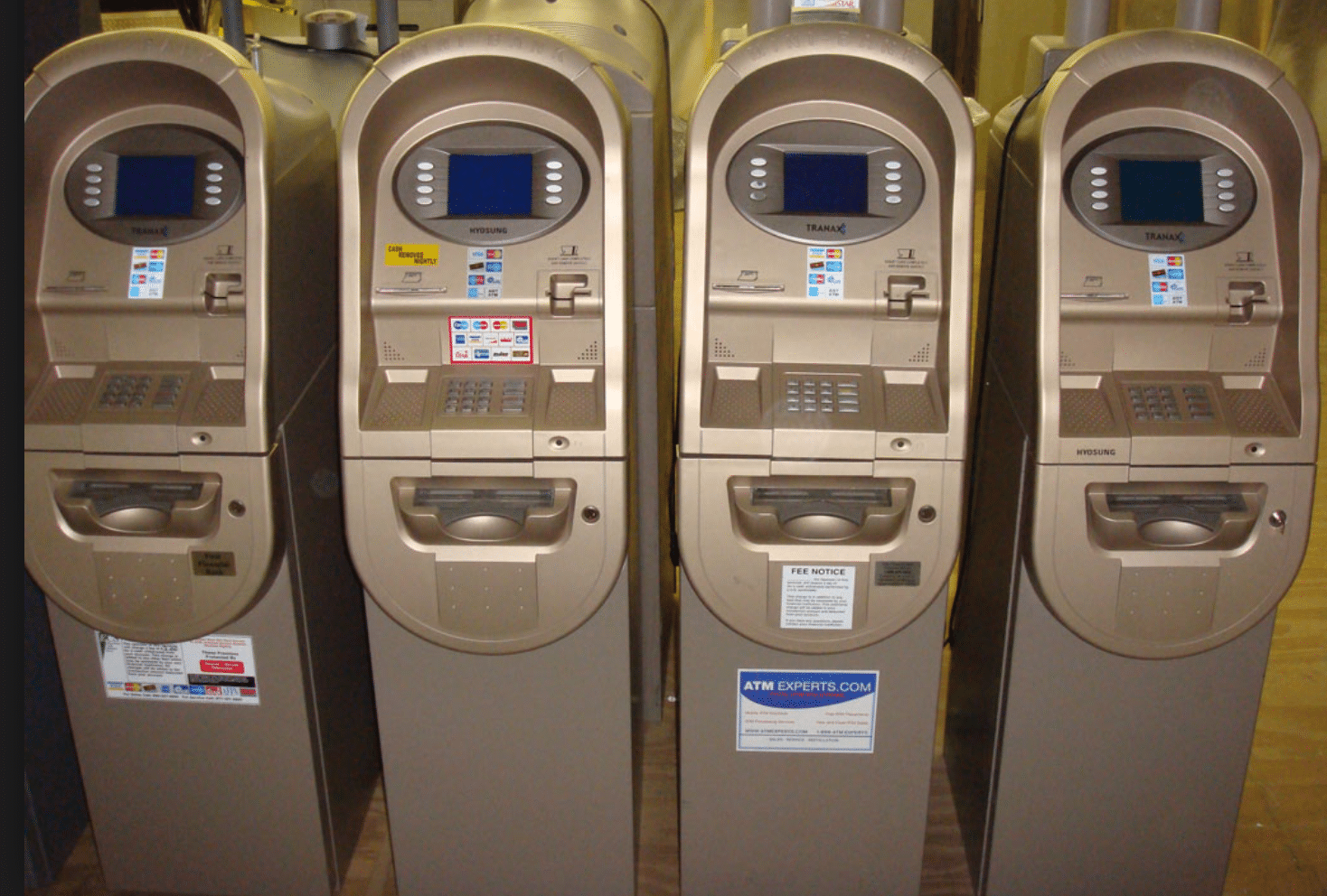 used ATM machine- Hyosung Mini bank 1500