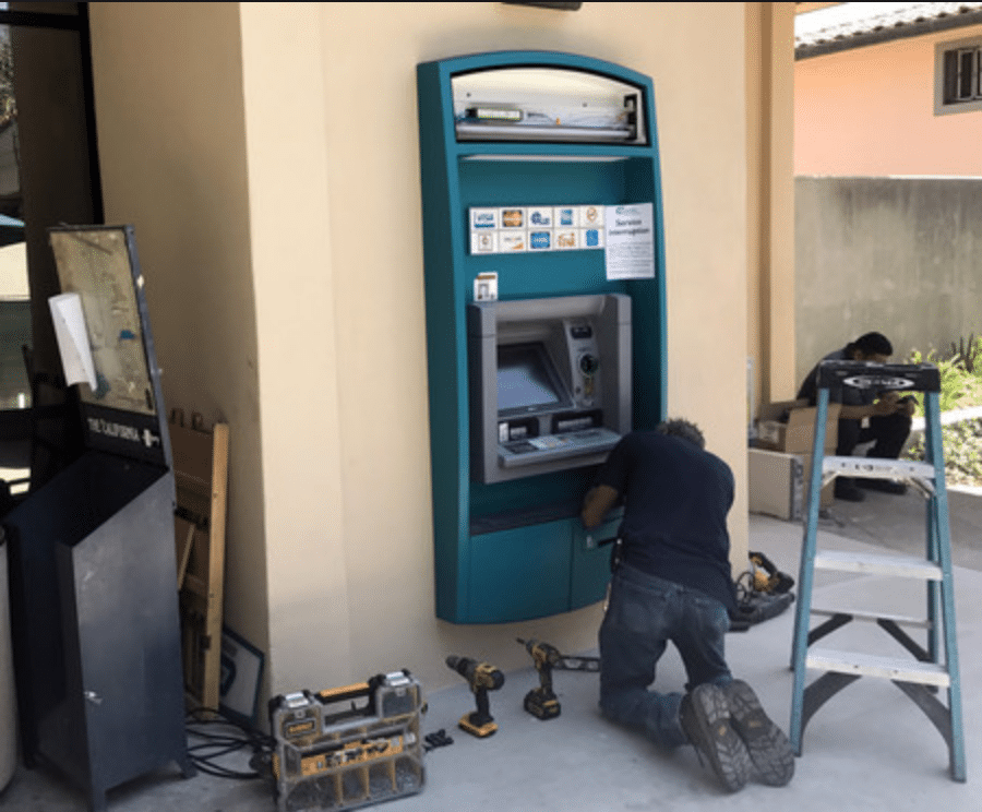 ATM installation and repair